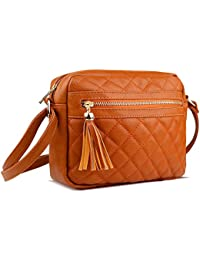 Crossbody Bags for Women PU Leather with Multi-Pocket &...