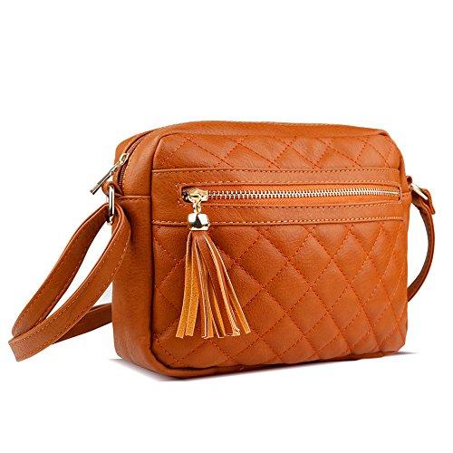 Checkered Brown Bag - 6