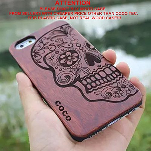 iPhone 6s plus Case,CoCo Laser Carving Marked