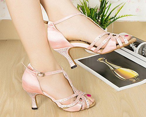 de heel Pink bal 5cm Salle 7 femme Miyoopark 15RFqZngw