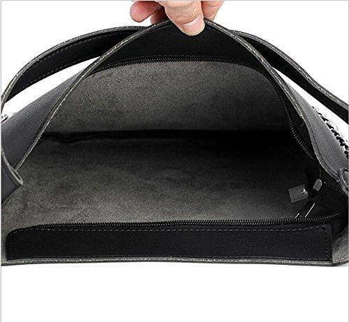 Chaîne Sac Croix Paquet À À Unique Gueules À Bandoulière Sac Meaeo Oblique Sac Main Black Zqvx1TwxY