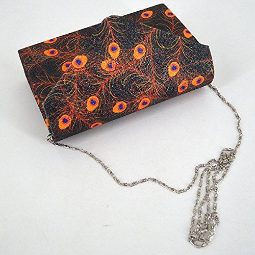 body Evening Bag Handbag Bag 1946 Sling Chain Women Monique Black Cross Clutch Bag Mini Bag HnxzwfRq54