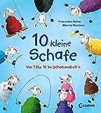 10 kleine Schafe: Von 1 bis 10 im Schafumdreh'n