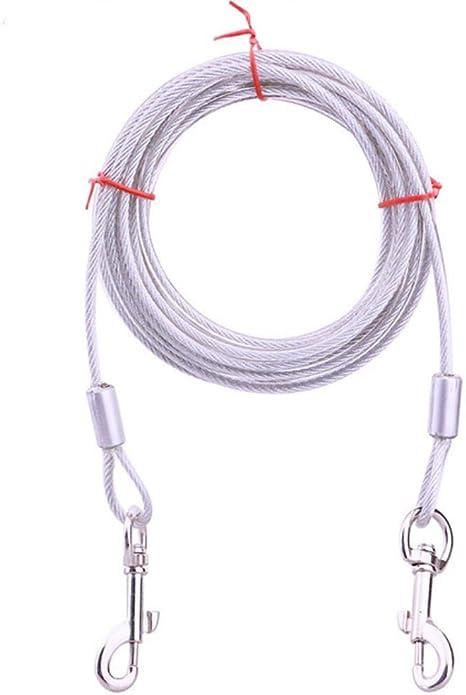 Animal Perro Collar Leash Diseño De Doble Cabeza Gancho Del ...