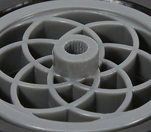 3.10 inch Black Press Fit Wheels pair