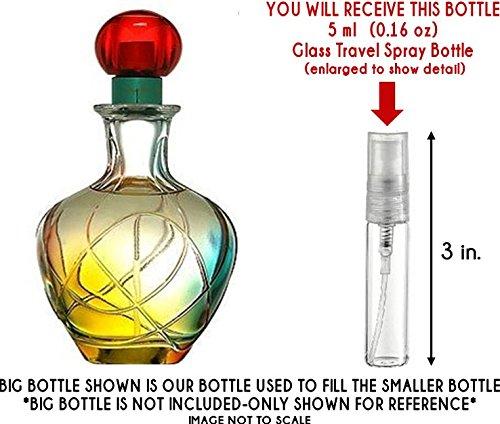 Jennifer Lopez Live Luxe Eau de Parfum Glass Mini Travel Spray for Women ()