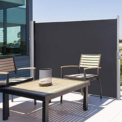 Tangkula Outdoor Patio Retractable Folding Side Screen Awning Waterproof Sun  Shade Wind Screen Privacy Divider ( - Amazon.com : Tangkula Outdoor Patio Retractable Folding Side Screen