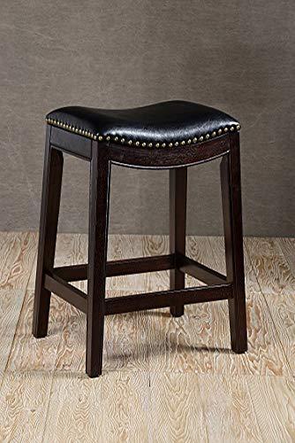 OKSLO Soft saddle seat 30h barstool, cappuccino - 30h Stool Bar
