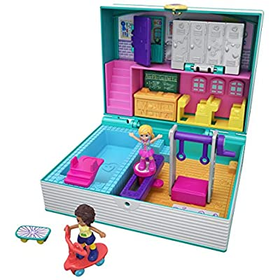 Polly Pocket Mini Middle School: Toys & Games