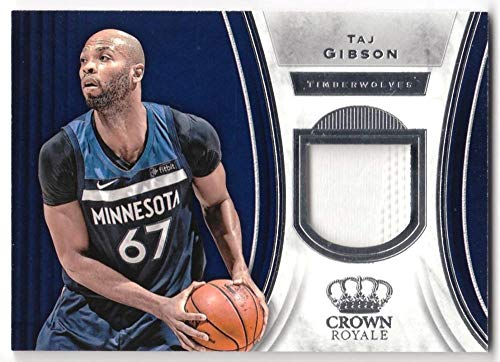 Taj Gibson 2018-19 Panini Crown Royale Jersey #60 NM-MT MEM Timberwolves Basketball NBA from Panini Crown Royale