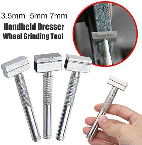Hongyuantongxun ダイヤモンド砥石石ドレッサーツールはハンドヘルドベンチグラインダーディスクには、ツールをドレッシングメタルグラインダーストーン研削ドレッシング (Grit : 30x13x7mm)
