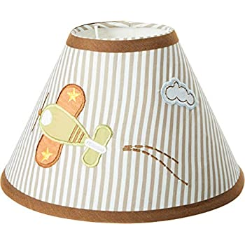 Amazon Com Geenny Lamp Shade Airplane Aviator Baby