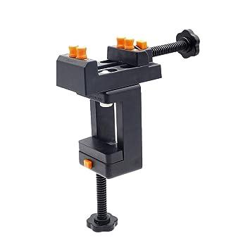 SUPVOX prensa de nogal banco pequeño tallado abrazadera mesa de ...