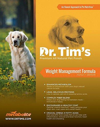 DR. Tim's Metabolite Weight Management Formula, 30 (Dr Tims Dog Food)