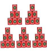 POKONBOY 30Pcs Soft Bullet Target, EVA Bullet Dart Target Compatible with Nerf Blasters Guns(2.36...