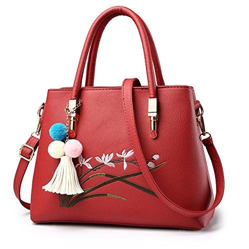 span épaule mode paquet Sac vent surface ligne sac G oblique Aoligei broderie PU handbag Madame Baotan doux de femme nwIAgExq0