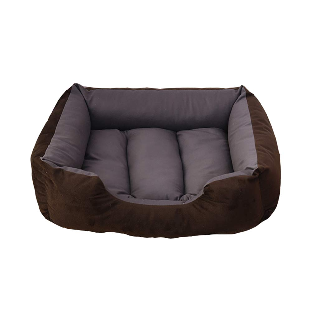 C MediumPet house Dog Bed,Comfortable Pet Nest Indoor Shortlived Fluff Cold Predection Moisture Proof 4 Sizes (color   D, Size   Xl)