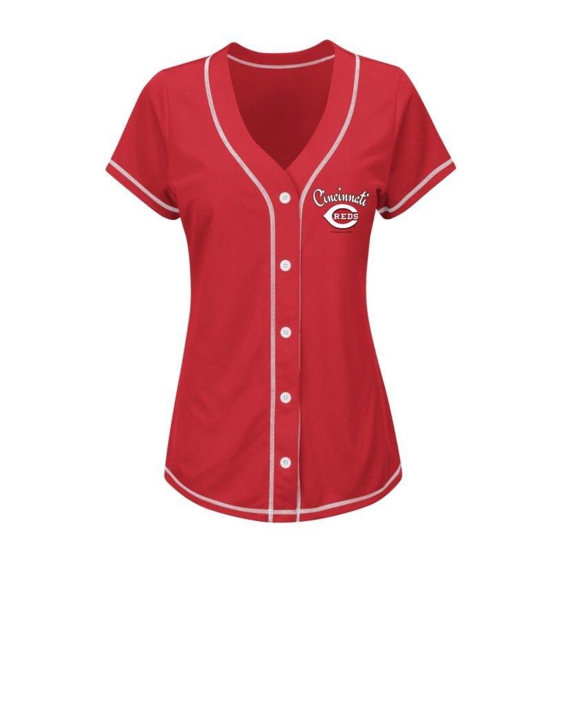 最新最全の MLB Joey Large Joey Vottoレディース19 Mファッショントップス Large レッド/ホワイト MLB B01ALNHTMM, フワグン:9471bbf6 --- a0267596.xsph.ru