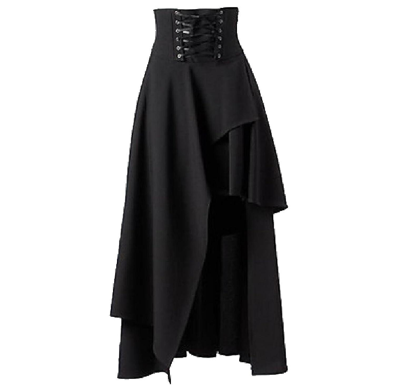 Abetteric Women's High Low Slim Fit Skirt