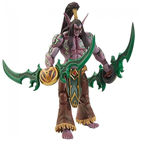 """NECA Heroes of the Storm 7"""" Scale Illidan Action Figure"""