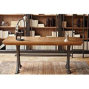 Martin Furniture IMTE384 Kit Toulouse Writing Desk, Brown