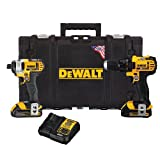 Dewalt DCKTS280C2R 20V MAX Cordless Lithium-Ion Drill Driver & Impact Driver Combo Kit w/ ToughSystem Case (Certified Refurbished)
