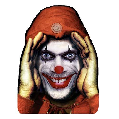 Forum Novelties, Scary Peeper Cling Halloween Décor: Clown