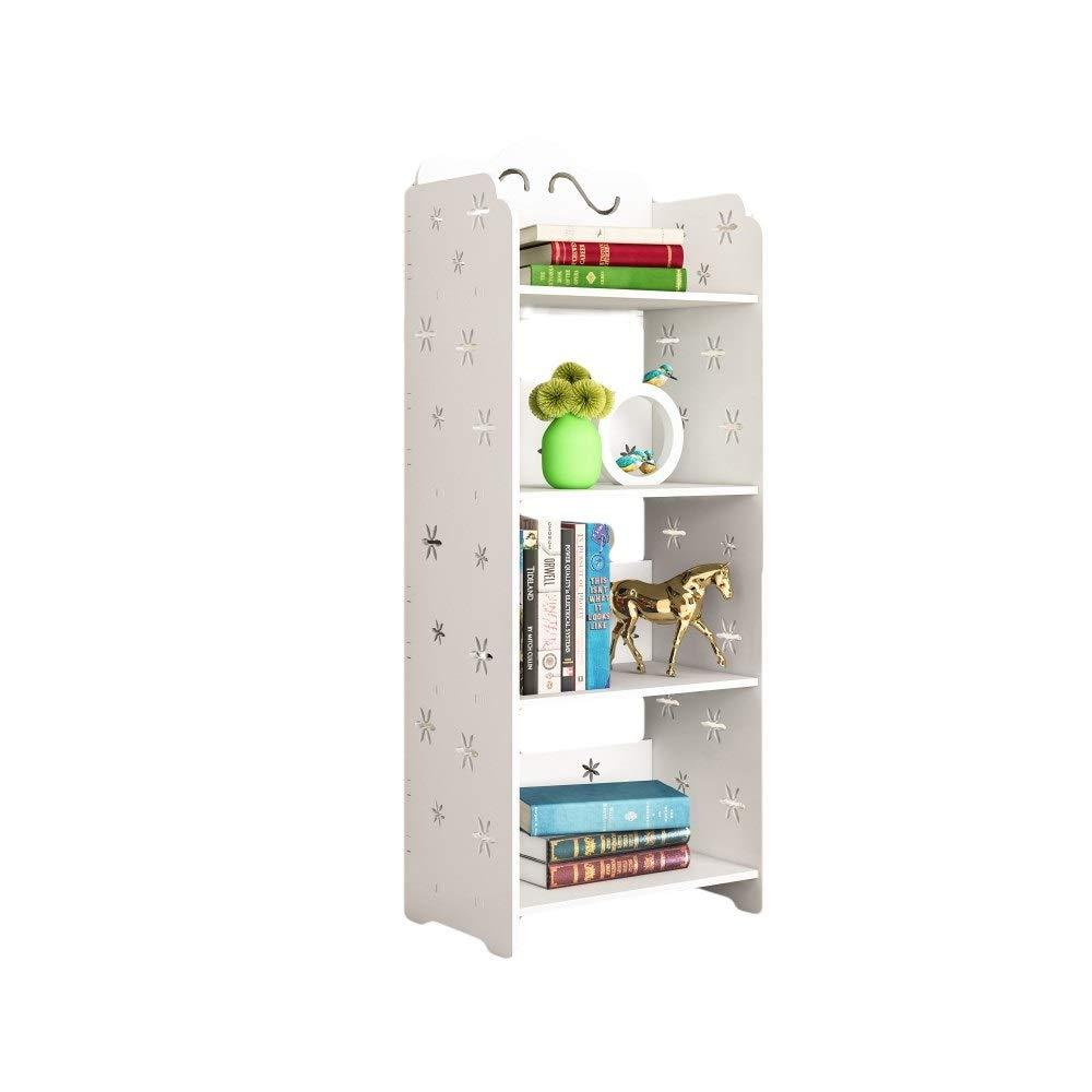 XJZxX 木製書棚レトロモダンキャビネット本棚オーガナイザーシンプルホーム棚クラシックデスク本棚 B07R71R8CJ