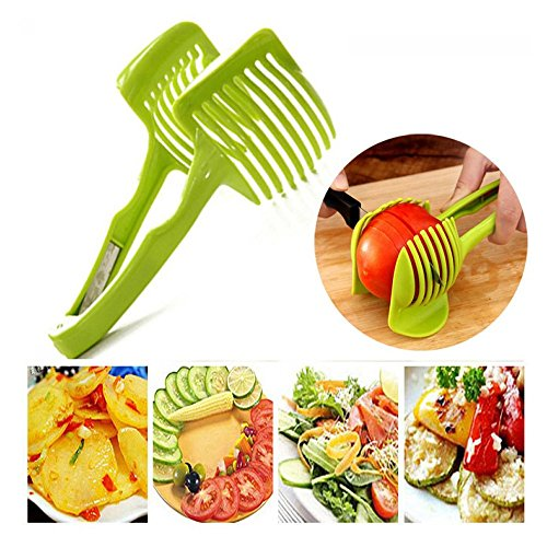 Lonngzhuan New Peeler Gadgets Fruits Cutter Kitchen Tool Vegetables Clip Lemon Tomato Slicer