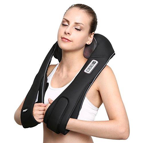 Naipo Shoulder Massager Cordless Massager for N...