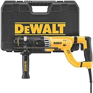 """DEWALT D25263K D-Handle SDS Rotary Hammer with Shocks, 1-1/8"""""""