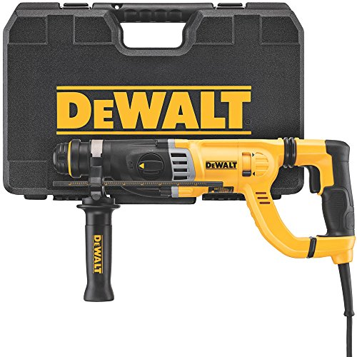 DEWALT Rotary Hammer Drill with Shocks, D-Handle, SDS, 1-1 8-Inch D25263K