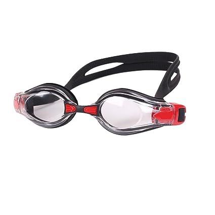 Occhiali da nuoto senza perdite anti-nebbia protezione UV tre occhiali protezione libera adulto maschile occhiali da sole degli uomini nera rosa , c