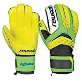 Reusch Soccer Pulse SG Extra Goalkeeper Glove, Yellow/Green, Size 7