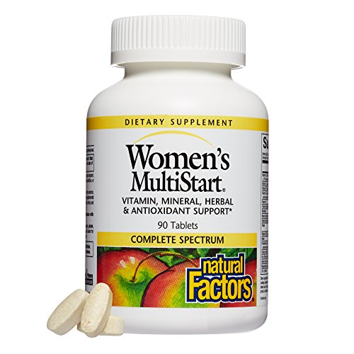 Natural Factors - Dr. Murray's Women's MultiStart Formula, Vitamin, Mineral, Herbal & Antioxidant Support, 90 Tablets - Antioxidant Formula Vitamin