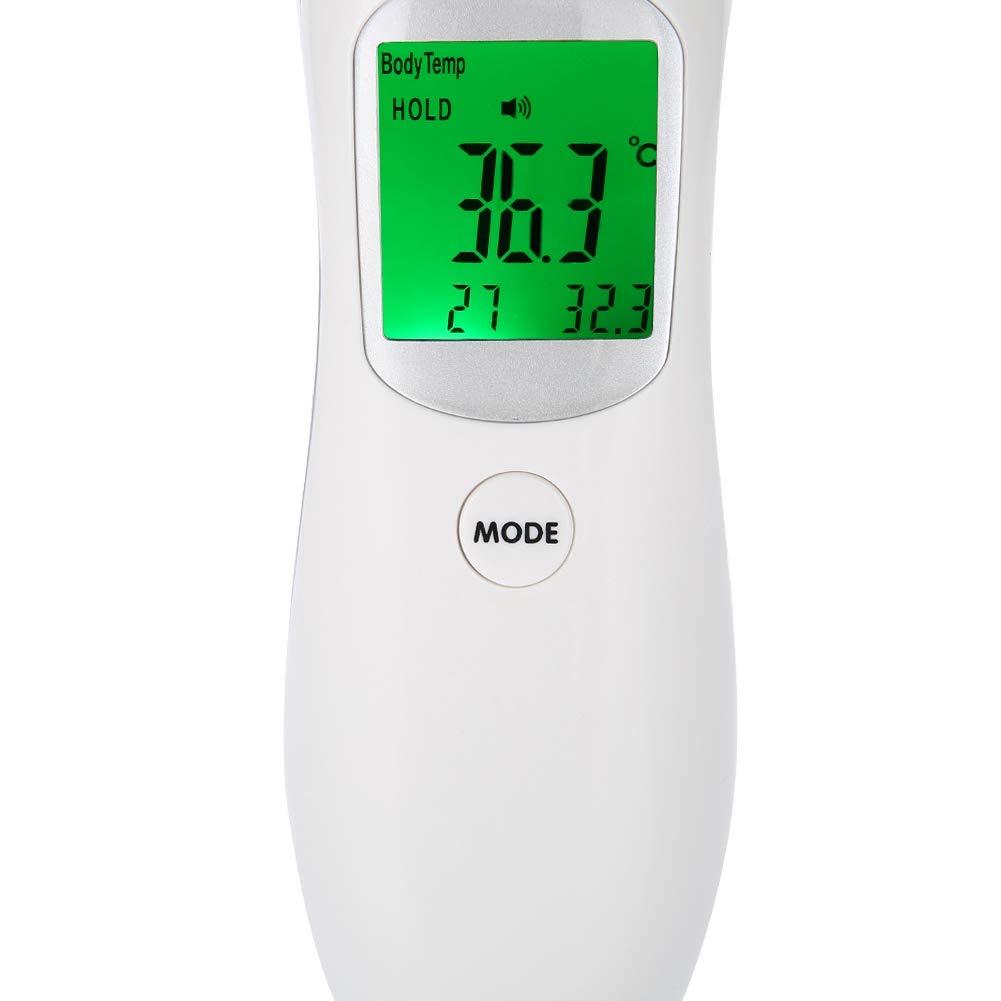 lectura digital de precisi/ón precisa para beb/és temperatura corporal para el cuerpo ni/ños y adultos Term/ómetro para ni/ños y adultos la superficie y la habitaci/ón