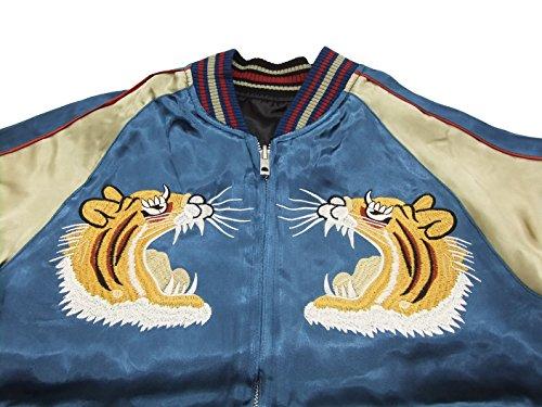 1bc467bfd Japanesque Japanese Souvenir Jacket 3RSJ-001 Tiger Men's Sukajan ...