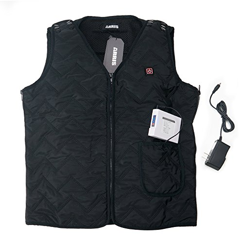 Electric Heating Winter Vest / Size Adjustable / w/ 7.4V 6000Mah Battery for outdoor use (for Men Women Boys Girls) 2017 New