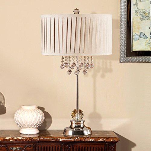 Light Arts Kristall-Tischlampe Nachttischlampe Nachttischlampe