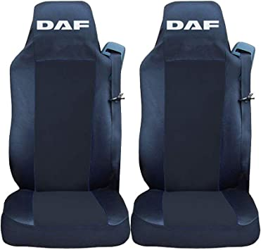 DAF CF FRONT GREY HEAVY DUTY PAIR CAR SEAT COVER SET