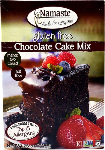 Namaste Foods Gluten Free Cake Mix Chocolate -- 26 oz - 2 pc