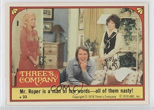 mr-roper-is-a-man-of-few-words-all-of-them-nasty-trading-card-1978-topps-threes-company-stickers-33