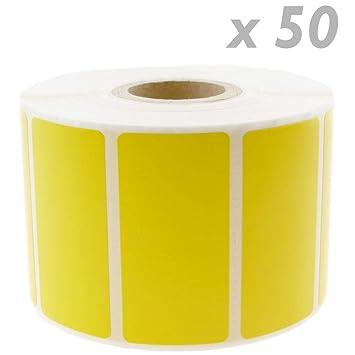 BeMatik - Rollo Bobina de 1100 Etiquetas Adhesivas para ...