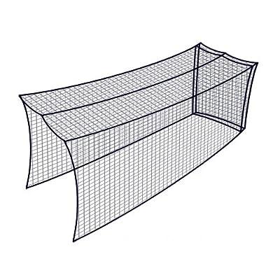 Dynamax Sports Golf Cage Net, Black, 10X10X20-ft