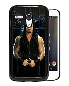 Fashionable And Nice Designed Case With Wwe Superstars Collection Wwe 2k15 Roman Reigns 14 Black For Motorola Moto G Phone Case