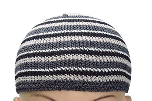 9a15ee85915e7 Manal Enterprises New Islamic Kufi Prayer Cap Egyptian Mens Muslim Hat Topi  Namaz Beanies