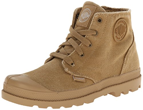 Palladium Pampa Hi Zipper Boot (Little Kid), Woodland/Honey Mustard, 12 M US Little Kid