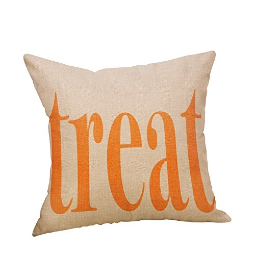 HomeMals Halloween Decorations Throw Pillows Case Square Cushion