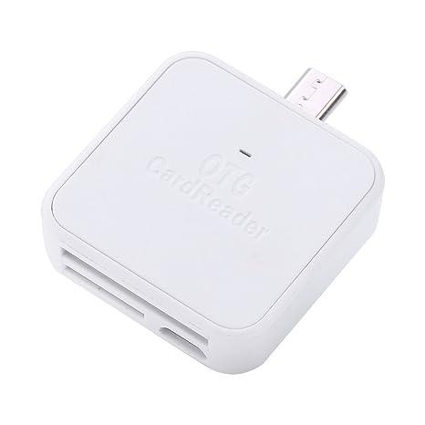 USB 3 en 1 Tipo de Lector de Tarjetas C Adaptador de Tarjeta ...