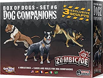 Edge Entertainment- Zombicide: Dog Companions, Color (EFCMZC16): Amazon.es: Juguetes y juegos
